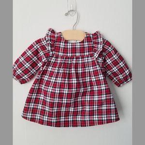 Baby Gap Plaid Ruffle Dress